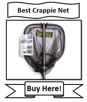StowMaster Crappie Tournament Series Fishing Net - Best Overall Crappie Fishing Net