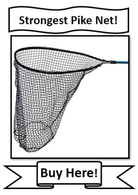 Drifter Marine Predator Northern Pike Fishing Net - strongest northern pike fishing net