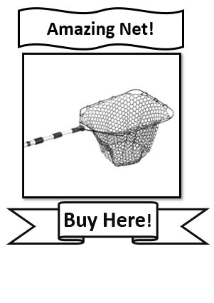 EGO Reach Crappie Fishing Net