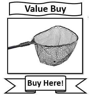 EGO Genesis S1 Walleye Fishing Net; Best walleye landing nets