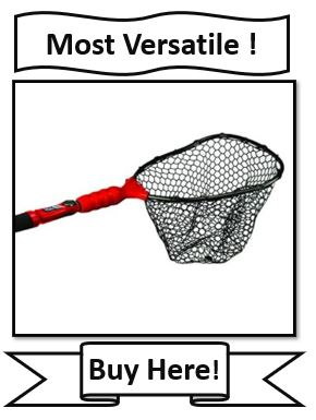 EGO S2 Slider - Most Versatile Crappie Fishing Net