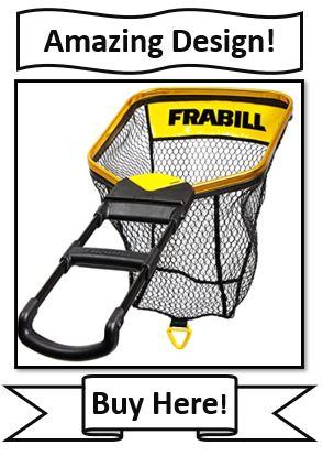 Frabill Trophy Haul Bearclaw fishing net - the best crappie landing nets