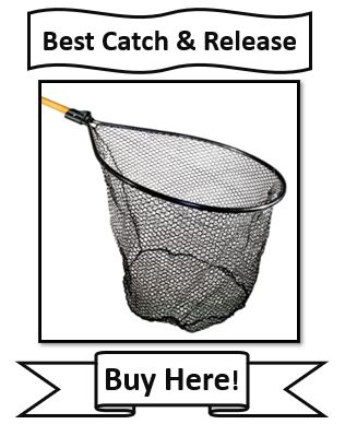 Frabill Conservation Series Fishing Net - best catch and release walleye fishing net