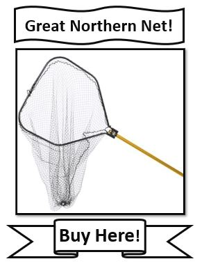 Frabill Power Stow - Great Northern Pike Fishing Net