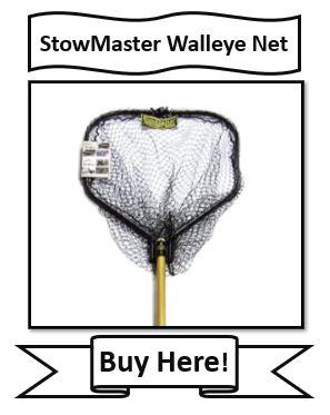 stowmaster walleye fishing net