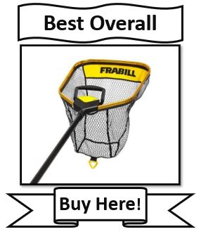 Frabill Trophy haul Fishing Net - best walleye fishing net