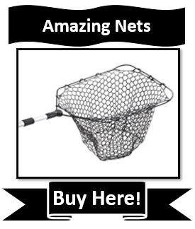 EGO Reach Best EGO Crappie Fishing Net