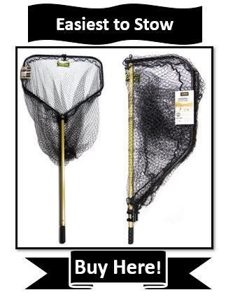 StowMaster Muskie Fishing Net - best muskie fishing nets