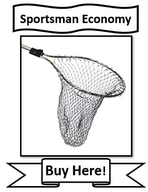 The Frabill Sportsman Economy Fishing Net