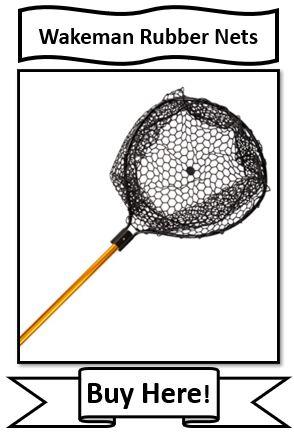 wakeman rubber fishing nets